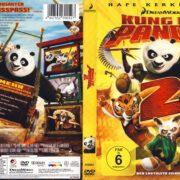 Kung Fu Panda 2 (2011) R2 German Cover & Custom Label