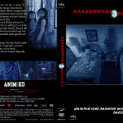 Paranormal Activity 3 (2011) R2 GERMAN Custom DVD Cover