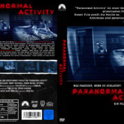 Paranormal Activity (2007) R2 GERMAN Custom DVD Cover