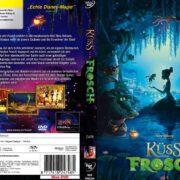 Küss den Frosch (2009) R2 German Custom Cover & Label