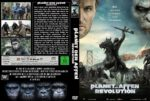 Planet der Affen Revolution (2014) R2 GERMAN Custom DVD Cover