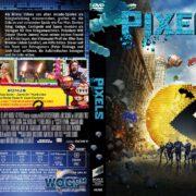 Pixels (2015) R2 GERMAN Custom DVD Cover