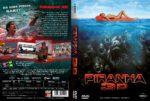 Piranha 3D (2010) R2 GERMAN Custom DVD Cover
