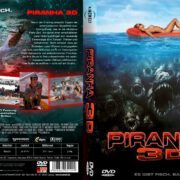 Piranha 3D (2010) R2 GERMAN Custom DVD Cover