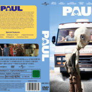 Paul - Ein Alien auf der Flucht (2011) R2 GERMAN Custom DVD Cover