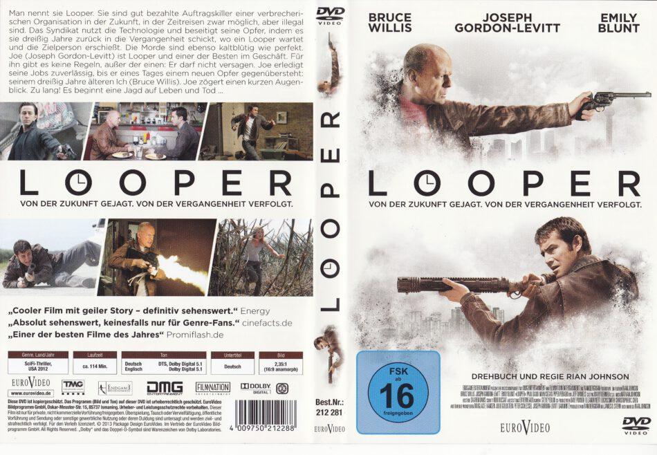 Looper Dvd Cover Labels 2012 R2 German