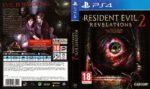 Resident Evil Revelations 2 (2015) German PS4 Cover