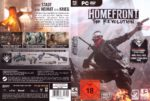 Homefront The Revolution (2016) Custom German PC Cover & Labels