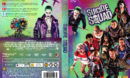 Suicide Squad (2016) R2 Nordic Custom DVD Cover + label