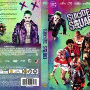 Suicide Squad (2016) R2 Nordic Custom DVD Cover + label