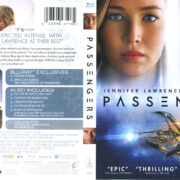 Passengers (2016) R1 Blu-Ray Cover & Labels