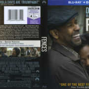 Fences (2016) R1 Blu-Ray Cover & Label