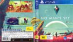 No Man's Sky (2016) PAL PS4 Cover & Label