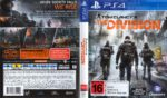 Tom Clancy's The Division (2016) PAL PS4 Cover & Label