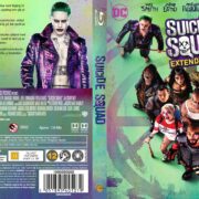 Suicide Squad (2016) R2 Nordic Custom Blu-Ray Cover + label
