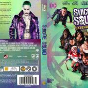 Suicide Squad (2016) R2 Nordic Custom Blu-Ray Cover + label