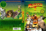Madagascar 2 (2008) R2 German Custom Cover & Label