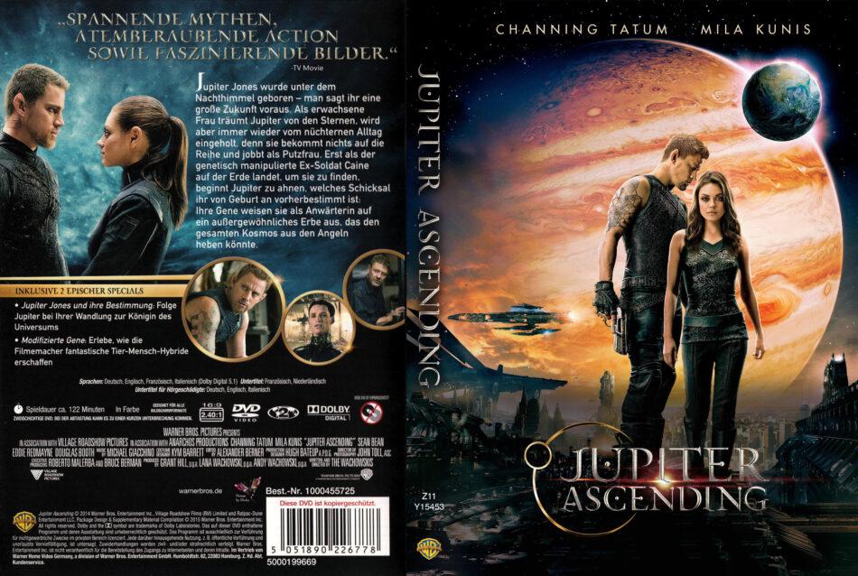 Jupiter Ascending Dvd Cover Label 2015 R2 German Custom