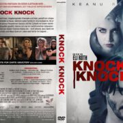 Knock Knock (2015) R2 German Custom Cover & Label