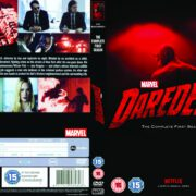 Daredevil Season 1 (2016) R2 Custom DVD Cover & Labels