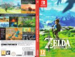 The Legend Of Zelda Breath of the Wild (2017) Custom NINTENDO SWITCH German Cover