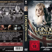 London Falling (2014) R2 German Custom Cover & Label