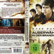 Maze Runner 2 - Die Auserwählten in der Brandwüste (2015) R2 German Custom Cover & Label