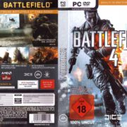 Battlefield 4 (2013) Custom German PC Cover & Labels
