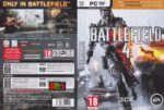 Battlefield 4 (2013) FR NL Custom PC Cover & Labels