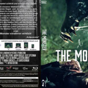 The Monster (2016) R2 German Custom Blu-Ray Cover & Labels