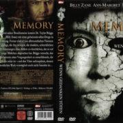 Memory – Wenn Gedanken töten (2006) R2 German Cover & Label