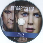 Before I Go To Sleep (2014) R1 Blu-Ray Label