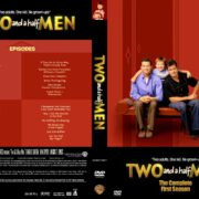 Two And A Half Men – The Complete First Season (2004) R0 Custom DVD Cover