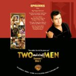 Two And A Half Men – The Complete First Season (2004) R0 Custom DVD Labels
