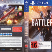 Battlefield 1 (2016) PAL PS4 Cover & Label