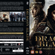 Dragon Blade (2015) R2 Nordic Retail Blu-Ray Cover + Custom Label