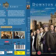 Downton Abbey – Season 1 (2011) R2 Nordic Retail DVD Cover + custom label