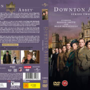 Downton Abbey - Season 2 (2012) R2 Nordic Retail DVD Cover + custom label