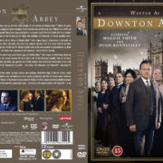 Winter at Downton Abbey (2012) R2 Nordic Retail DVD Cover + custom label