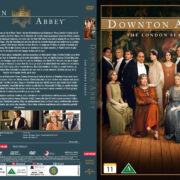 Downton Abbey - The London Season (2014) R2 Nordic Retail DVD Cover + custom label