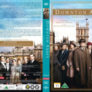 Downton Abbey - Season 5 (2015) R2 Nordic Retail DVD Cover + custom label