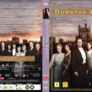 Downton Abbey - Season 6 (2016) R2 Nordic Retail DVD Cover + custom label