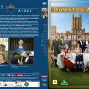 Downton Abbey - The Finale (2016) R2 Nordic Retail DVD Cover + custom label