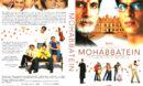 Mohabbatein - Denn meine Liebe ist Unsterblich (2000) R2 German Cover & Label