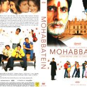 Mohabbatein – Denn meine Liebe ist Unsterblich (2000) R2 German Cover & Label