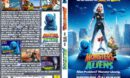 Monsters vs. Aliens (2009) R2 German Custom Cover & Label