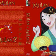 Mulan Double Feature (2004) R2 German Custom Cover & Labels