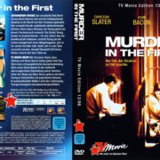 Murder in the First (1995) R2 German Cover & Label