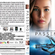Passengers (2016) R2 German Custom Blu-Ray Cover & Labels