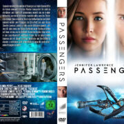Passengers (2016) R2 German Custom Cover & Labels